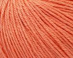 Fiber Content 50% Silk, 30% Merino Superfine, 20% Cashmere, Salmon, Brand Ice Yarns, Yarn Thickness 3 Light  DK, Light, Worsted, fnt2-36997