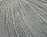 Fiber Content 50% Silk, 40% Merino Superfine, 10% Kid Mohair, Brand ICE, Grey, Yarn Thickness 1 SuperFine  Sock, Fingering, Baby, fnt2-37003