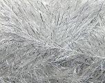 Fiber Content 75% Polyester, 25% Metallic Lurex, Silver, Brand Ice Yarns, Grey, Yarn Thickness 5 Bulky  Chunky, Craft, Rug, fnt2-37128