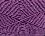 Outlast is a fiber technology that continuously interacts with a body's microclimate to moderate temperature from being too hot or too cold. Fiber Content 60% Micro Acrylic, 40% Outlast, Lilac, Brand Ice Yarns, Yarn Thickness 4 Medium  Worsted, Afghan, Aran, fnt2-37314