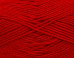 Outlast is a fiber technology that continuously interacts with a body's microclimate to moderate temperature from being too hot or too cold. Fiber Content 60% Micro Acrylic, 40% Outlast, Red, Brand Ice Yarns, Yarn Thickness 4 Medium  Worsted, Afghan, Aran, fnt2-37318