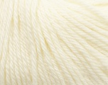 Fiber Content 100% Wool, White, Brand Ice Yarns, Yarn Thickness 4 Medium  Worsted, Afghan, Aran, fnt2-37993
