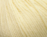 Fiber Content 100% Wool, Light Yellow, Brand Ice Yarns, Yarn Thickness 4 Medium  Worsted, Afghan, Aran, fnt2-37995