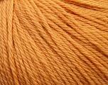 Fiber Content 100% Wool, Light Orange, Brand ICE, Yarn Thickness 4 Medium  Worsted, Afghan, Aran, fnt2-37999
