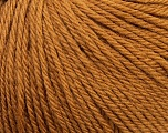 Fiber Content 100% Wool, Light Brown, Brand Ice Yarns, Yarn Thickness 4 Medium  Worsted, Afghan, Aran, fnt2-38001