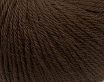 Fiber Content 100% Wool, Brand Ice Yarns, Brown, Yarn Thickness 4 Medium  Worsted, Afghan, Aran, fnt2-38002