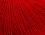 Fiber Content 100% Wool, Red, Brand ICE, Yarn Thickness 4 Medium  Worsted, Afghan, Aran, fnt2-38007