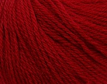 Fiber Content 100% Wool, Brand Ice Yarns, Burgundy, Yarn Thickness 4 Medium  Worsted, Afghan, Aran, fnt2-38008