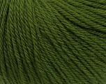 Fiber Content 100% Wool, Brand Ice Yarns, Green, Yarn Thickness 4 Medium  Worsted, Afghan, Aran, fnt2-38016