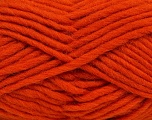 Perfect for felting in the washing machine. Shrinkage about 30%-40% Fiber Content 100% Virgin Wool, Orange, Brand Ice Yarns, Yarn Thickness 5 Bulky  Chunky, Craft, Rug, fnt2-38563