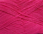 Fiber Content 55% Cotton, 45% Acrylic, Brand ICE, Dark Pink, Yarn Thickness 1 SuperFine  Sock, Fingering, Baby, fnt2-38675