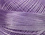 Fiber Content 100% Micro Fiber, Light Lilac, Brand ICE, Yarn Thickness 0 Lace  Fingering Crochet Thread, fnt2-39149