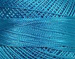 Fiber Content 100% Micro Fiber, Light Blue, Brand Ice Yarns, Yarn Thickness 0 Lace  Fingering Crochet Thread, fnt2-39159