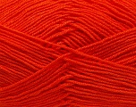 Fiber Content 100% Acrylic, Brand Ice Yarns, Dark Orange, Yarn Thickness 3 Light  DK, Light, Worsted, fnt2-39428