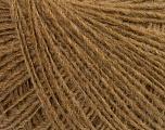 Fiber Content 70% Acrylic, 30% Wool, Light Brown, Brand ICE, Yarn Thickness 2 Fine  Sport, Baby, fnt2-40339