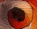 Fiber Content 50% Acrylic, 50% Wool, Orange, Brand ICE, Grey, Gold, Brown, Yarn Thickness 2 Fine  Sport, Baby, fnt2-40625