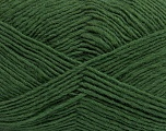 Fiber Content 50% Acrylic, 50% Wool, Brand ICE, Green, Yarn Thickness 3 Light  DK, Light, Worsted, fnt2-40811