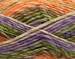 Fiber Content 75% Acrylic, 25% Wool, Orange, Lilac, Brand Ice Yarns, Green, Brown, Beige, Yarn Thickness 5 Bulky  Chunky, Craft, Rug, fnt2-40820