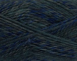 Fiber Content 75% Acrylic, 25% Wool, Brand Ice Yarns, Grey Shades, Blue Shades, Yarn Thickness 4 Medium  Worsted, Afghan, Aran, fnt2-40897
