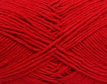 Please note that the yarn weight and the ball length may vary from one color to another for this yarn. Fiber Content 100% Cotton, Red, Brand Ice Yarns, Yarn Thickness 3 Light  DK, Light, Worsted, fnt2-40907