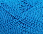 Please note that the yarn weight and the ball length may vary from one color to another for this yarn. Fasergehalt 100% Baumwolle, Brand Ice Yarns, Blue, Yarn Thickness 3 Light  DK, Light, Worsted, fnt2-40908