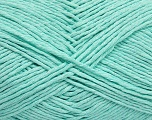 Please note that the yarn weight and the ball length may vary from one color to another for this yarn. Fiber Content 100% Cotton, Mint Green, Brand Ice Yarns, Yarn Thickness 3 Light  DK, Light, Worsted, fnt2-40914