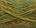 Conţinut de fibre 43% Acrilic, 27% Poliamidă, 15% Lână, 15% Mohair, Brand Ice Yarns, Green Shades, Yarn Thickness 5 Bulky  Chunky, Craft, Rug, fnt2-41164