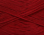 Fiber Content 50% Cotton, 50% Bamboo, Brand Ice Yarns, Burgundy, Yarn Thickness 2 Fine  Sport, Baby, fnt2-41442
