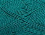 Fiber Content 50% Cotton, 50% Bamboo, Brand Ice Yarns, Green, Yarn Thickness 2 Fine  Sport, Baby, fnt2-41445