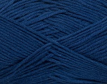 Fiber Content 50% Cotton, 50% Bamboo, Brand Ice Yarns, Blue, Yarn Thickness 2 Fine  Sport, Baby, fnt2-41447