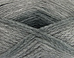 Fiber Content 97% Acrylic, 3% Polyamide, Light Grey Shades, Brand ICE, Yarn Thickness 5 Bulky  Chunky, Craft, Rug, fnt2-41671
