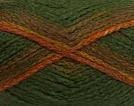 Fiber Content 97% Acrylic, 3% Polyamide, Khaki, Brand Ice Yarns, Green Shades, Brown, Yarn Thickness 5 Bulky  Chunky, Craft, Rug, fnt2-41678