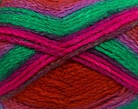 Fiber Content 97% Acrylic, 3% Polyamide, Lilac, Brand ICE, Green, Fuchsia, Copper, Yarn Thickness 5 Bulky  Chunky, Craft, Rug, fnt2-41684