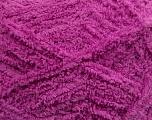 Fiber Content 100% Micro Fiber, Brand ICE, Dark Orchid, Yarn Thickness 5 Bulky  Chunky, Craft, Rug, fnt2-41768