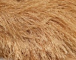 Fiber Content 100% Polyester, Latte, Brand ICE, Yarn Thickness 6 SuperBulky  Bulky, Roving, fnt2-42068
