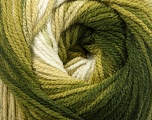 Fiber Content 100% Premium Acrylic, Brand Ice Yarns, Green Shades, Yarn Thickness 3 Light  DK, Light, Worsted, fnt2-42194