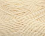 Fiber Content 100% Virgin Wool, Brand ICE, Cream, Yarn Thickness 3 Light  DK, Light, Worsted, fnt2-42302