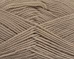 Fiber Content 100% Virgin Wool, Brand ICE, Beige, Yarn Thickness 3 Light  DK, Light, Worsted, fnt2-42306