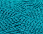 Fiber Content 100% Virgin Wool, Turquoise, Brand Ice Yarns, Yarn Thickness 3 Light  DK, Light, Worsted, fnt2-42318