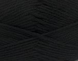 Fiber Content 50% Polyamide, 50% Acrylic, Brand Ice Yarns, Black, Yarn Thickness 3 Light  DK, Light, Worsted, fnt2-42368