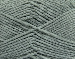 Fiber Content 50% Acrylic, 50% Polyamide, Brand Ice Yarns, Grey, Yarn Thickness 3 Light  DK, Light, Worsted, fnt2-42369
