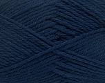 Fiber Content 50% Polyamide, 50% Acrylic, Navy, Brand Ice Yarns, Yarn Thickness 3 Light  DK, Light, Worsted, fnt2-42373