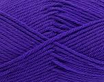 Fiber Content 50% Acrylic, 50% Polyamide, Purple, Brand Ice Yarns, Yarn Thickness 3 Light  DK, Light, Worsted, fnt2-42375