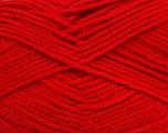 Fiber Content 50% Polyamide, 50% Acrylic, Tomato Red, Brand Ice Yarns, Yarn Thickness 3 Light  DK, Light, Worsted, fnt2-42378