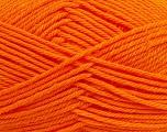 Fiber Content 50% Acrylic, 50% Polyamide, Orange, Brand Ice Yarns, Yarn Thickness 3 Light  DK, Light, Worsted, fnt2-42379