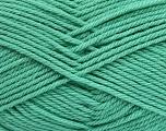 Fiber Content 50% Polyamide, 50% Acrylic, Mint Green, Brand Ice Yarns, Yarn Thickness 3 Light  DK, Light, Worsted, fnt2-42381