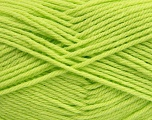 Fiber Content 50% Acrylic, 50% Polyamide, Brand Ice Yarns, Baby Green, Yarn Thickness 3 Light  DK, Light, Worsted, fnt2-42383