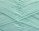 Fiber Content 50% Polyamide, 50% Acrylic, Light Mint Green, Brand Ice Yarns, Yarn Thickness 3 Light  DK, Light, Worsted, fnt2-42385