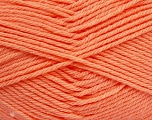 Fiber Content 50% Polyamide, 50% Acrylic, Light Salmon, Brand Ice Yarns, Yarn Thickness 3 Light  DK, Light, Worsted, fnt2-42387