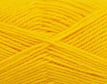 Fiber Content 50% Acrylic, 30% Wool, 20% Polyamide, Yellow, Brand ICE, Yarn Thickness 2 Fine  Sport, Baby, fnt2-42418